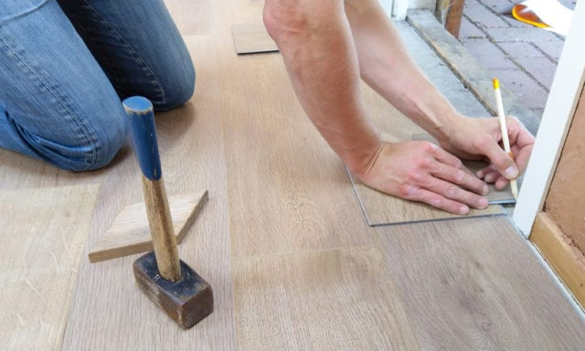 Home Renovations funded by a home equity line of credit (HELOC)