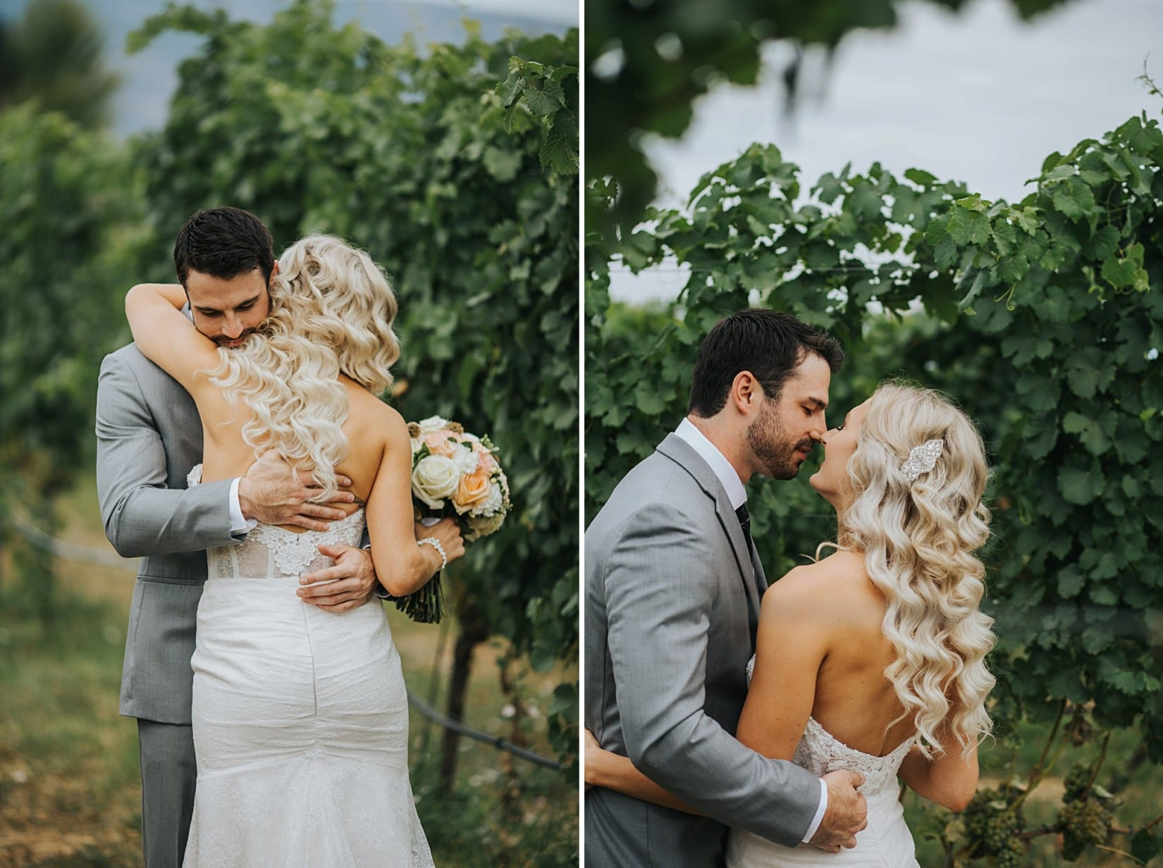 Off the Grid Winery Wedding Kelowna Photographer Okanagan Vineyard Ceremony