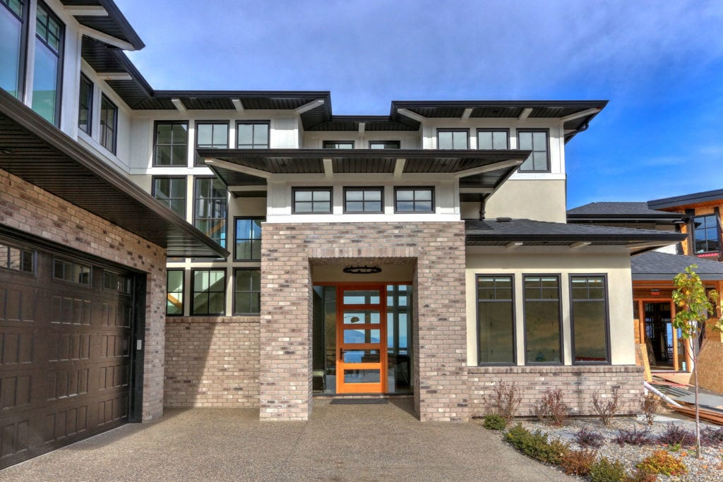 Stark Homes custom home build that integrates smart homes technology in cooling and security