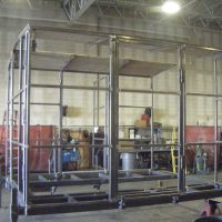 Hardwick Machinery Core Driller Shack Frame and Foundation
