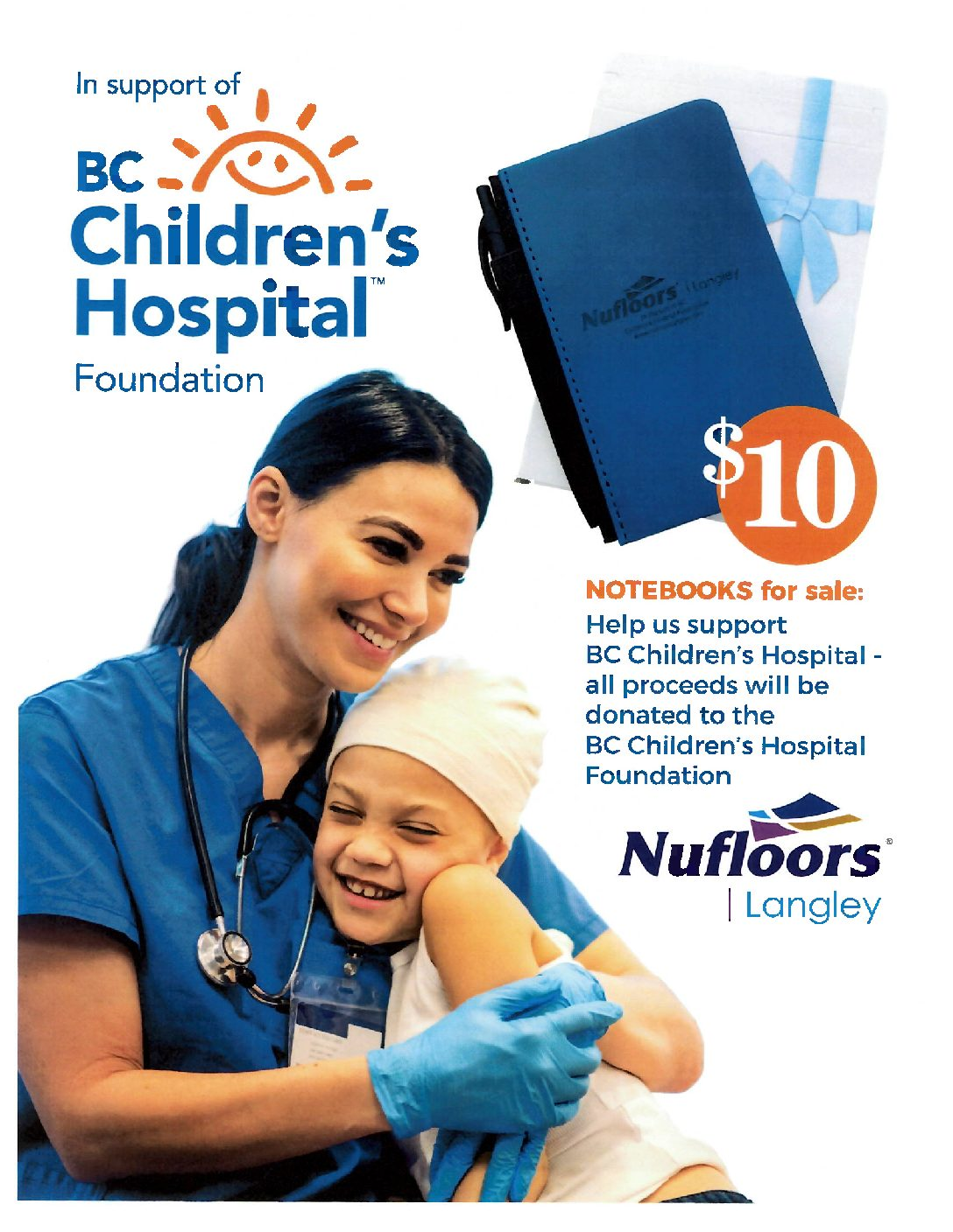 HELPING KIDS SHINE <br> All Proceeds donated to <br /> BC Children's Hospital Foundation