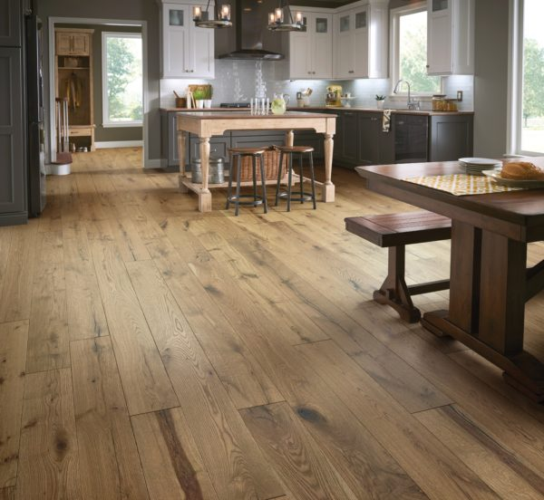 Reflections White Oak Engineered Wood Flooring by Shaw