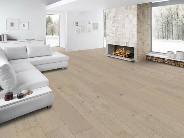 The Coastline Collection Flooring in Seaglass by Fuzion